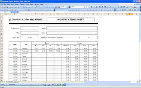 Excel Template For Timesheet Sheets Excel Templates