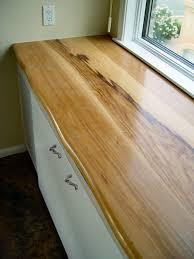 pecan wood countertop photo gallery by devos custom woodworking