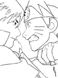 naruto sasuke coloring