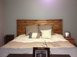 How To Make A Bed Bench Make A Headboard For Bed Ideas And Fabulous With Lights Out Of
