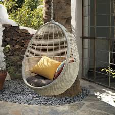 Cb2 Outdoor Furniture How It U0027s Made Pod Hanging Chair The Cb2 Blog