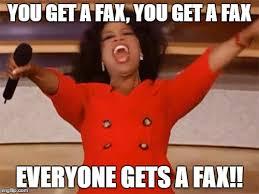 Fax Meme - oprah imgflip