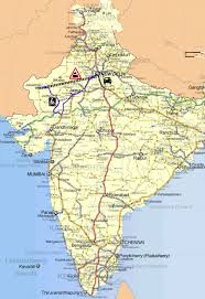 Chennai India Map by Route Map India Xmas 2010