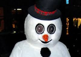 frosty snowman u0027 character accused assaulting police dog