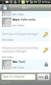 send from android chapter secure text messaging on android basic security