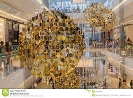 christmas decoration jk mall sao paulo editorial photography