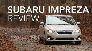 2015 subaru impreza review consumer reports youtube