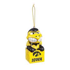hawkeyes mascot ornament