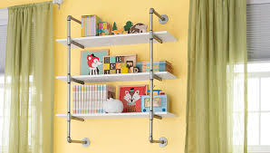 A Frame Bookshelf Plans Pipe Frame Wall Shelf