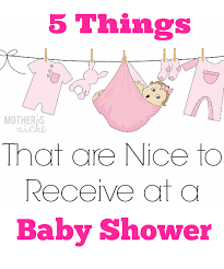 baby shower things 5 things that are to receive at a baby shower