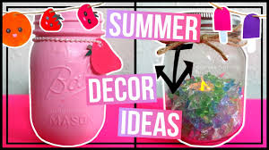 4 summer decoration ideas for parties or for your room youtube
