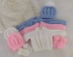 knitting pattern baby sweater chunky yarn pattern 54 babies cosy cardigan set sizes early baby 0 3 months