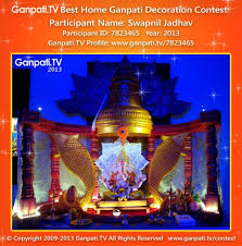 New Year Decorations At Home by Swapnil Jadhav Home Ganpati Picture 2013 View More Pictures And