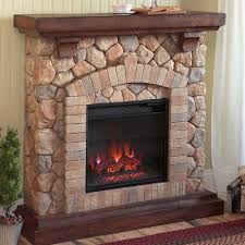 lummy real flame w wood wall mount led electric fireplace shop