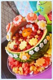 Fruit Decoration Ideas For Baby Shower 15 Fun Baby Shower Fruit Display Ideas Baby Shower Fruit