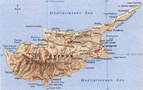 map of cyprus cyprus geography map