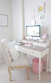 cool feminine home office decorating ideas find this pin and