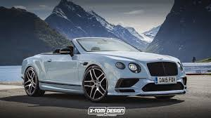 bentley bentley bentley continental gt supersports convertible rendered into