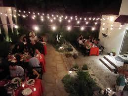 backyard string lights pics home outdoor decoration