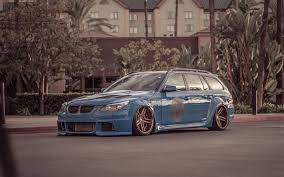 bmw wagon stance wallpapers bmw m5 e61 tuning stance wagons 5 series