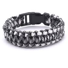 buckle survival bracelet images Outdoor travel camping thin army green braided cobra weave plastic jpg