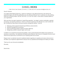 Billing Clerk Job Description For Resume by Cover Letter For Law Clerk Position Law Firm Cover Letter Cover