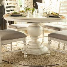 Dining Room Stylish Homelegance Ohana Round Pedestal Table In - Ohana white round dining room set