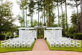 outdoor wedding venues in nc beautiful brier creek country club wedding in raleigh nc