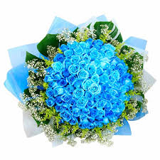 blue roses delivery blue spectacle bouquets flowers blue roses singapore
