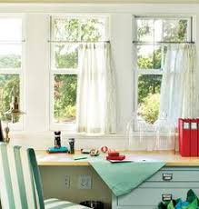 Thermal Cafe Curtains These Green Polka Dot Cafe Curtains Add A Much Needed Pop Of Color