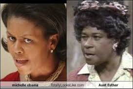 Aunt Esther Meme - michelle obama totally looks like aunt esther cheezburger funny