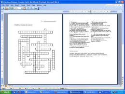 diseases crossword puzzle bacteria and viruses by science from