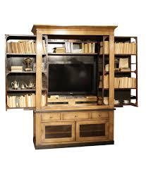 Tv Wood Furniture Design Sliding Tv Bookcase Wall Unit From Grange Furniture Traditional