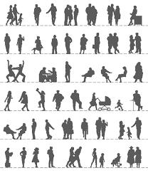 persona seduta dwg figure umane dwg silhouette dwg