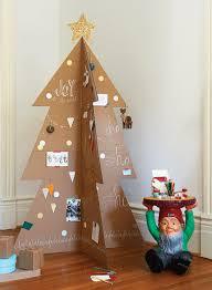 modern christmas tree how to make a modern cardboard christmas tree chatelaine