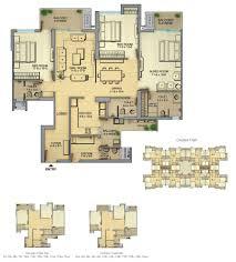 floor plan of gaur saundaryam by gaursons india limited in