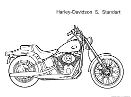 coloring page motorcycle repair is difficult