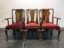 Ethan Allen Queen Anne Dining Chairs Queen Anne Dining Set Ebay