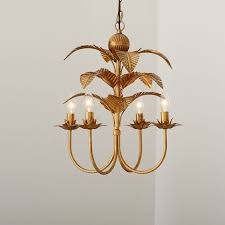 pottery barn teen lighting palm chandelier pbteen