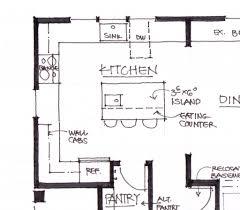 Kitchen Floor Plans Ideas by Kitchen Plans With Island Kitchen Ideas With Island 6 L Shaped