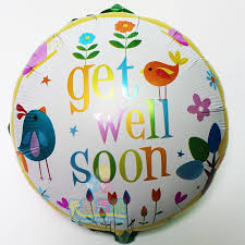 get well soon and balloons 18 get well soon balloons wish balloon for frined birthday