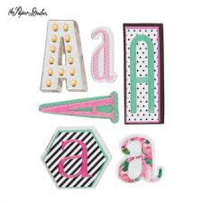 monogram letter stickers a monogram letter 3d stickers nostalgia monograms