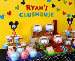 mickey mouse clubhouse birthday party ideas photo 1 of 18