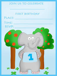 Birthday Invitation Cards For Kids First Birthday Find Your Printable 1st Birthday Invitation Here Birthday Party
