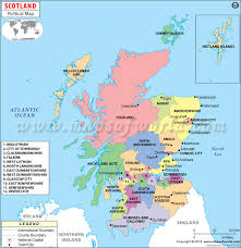 map of scotland and political map of scotland family scotland