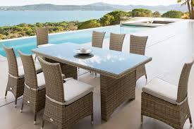 table de jardin haut de gamme cuba table de jardin chaises cuba