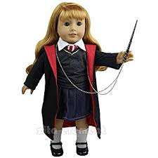 18 Doll Halloween Costumes Amazon Hermione Granger Inspired Doll Clothes American