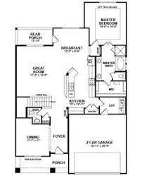 Beazer Home Floor Plans Brookhaven Floor Plan Open Concept Kitchen And Living Area With