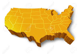 Map Of The Continental United States by United States Map Stock Photos U0026 Pictures Royalty Free United