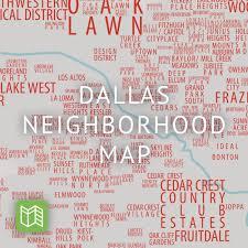 Dallas Area Map Dallas U0027 Neighborhood Map U2014 Bc